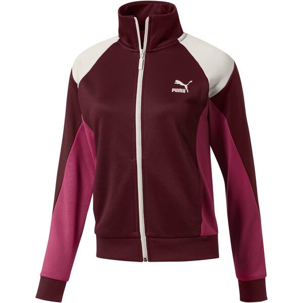 Retro Women's Track Jacket, Fig, large