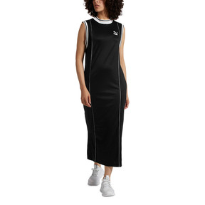 Thumbnail 2 of Retro Women's Dress, Puma Black, medium