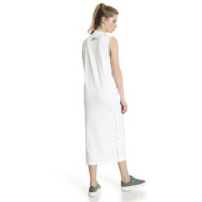 Thumbnail 3 of Retro Women's Dress, Puma White, medium