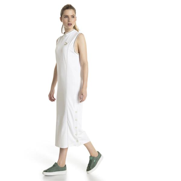 Retro Women's Dress, Puma White, large