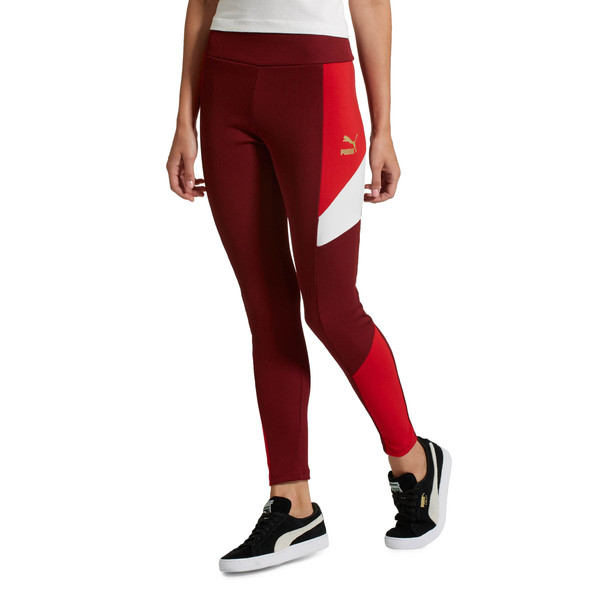 Retro Rib Women's Leggings, 18, large