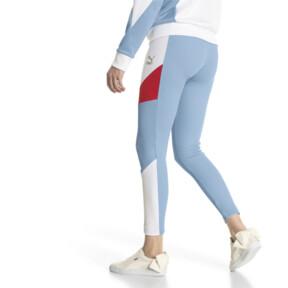 Thumbnail 3 of Retro Rib Women's Leggings, CERULEAN, medium