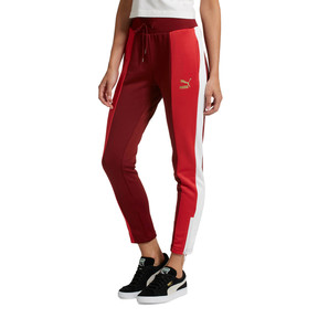 Thumbnail 2 of Retro Women's Track Pants, Pomegranate, medium