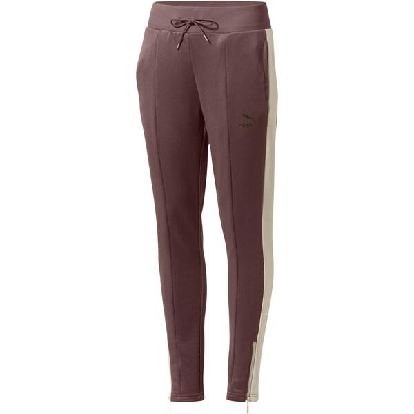 Retro Women's Track Pants, Peppercorn, large