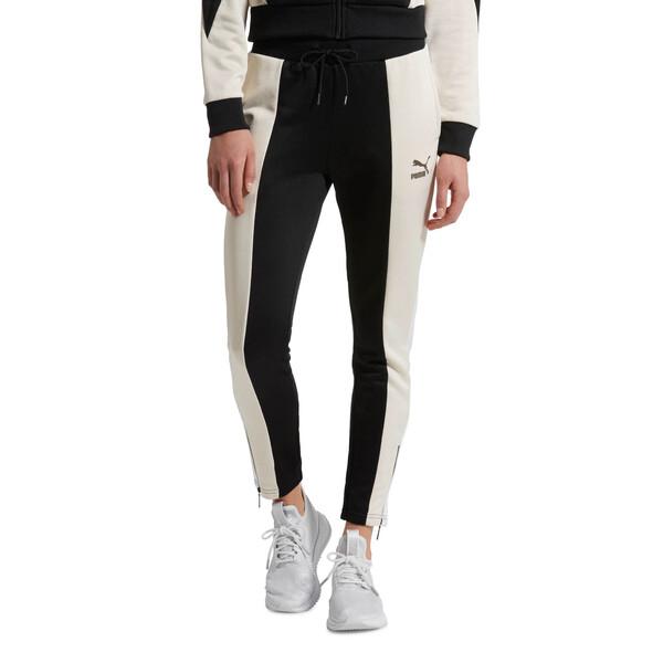 Retro Women's Track Pants, Puma Black, large