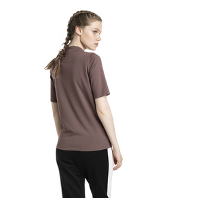 Thumbnail 3 of Retro Women's Tee, Peppercorn, medium