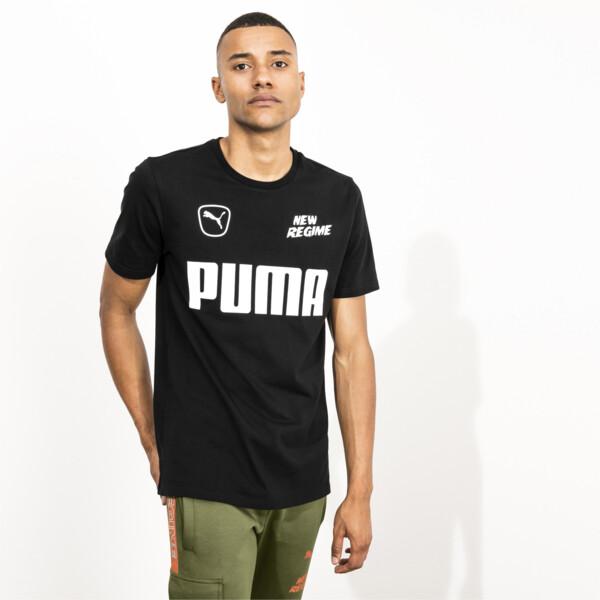 PUMA x ATELIER NEW REGIME Men's Tee, Puma Black, large