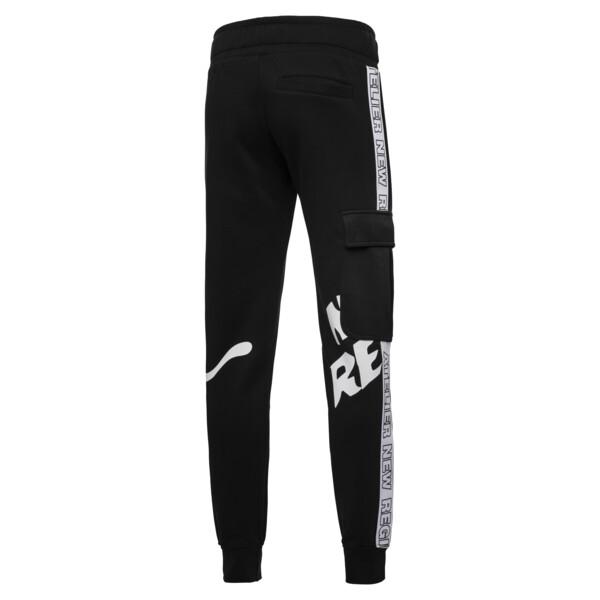 Pantalon en sweat PUMA x ATELIER NEW REGIME pour homme, Puma Black, large