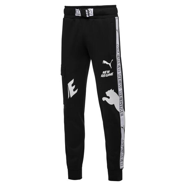 PUMA x ATELIER NEW REGIME Men's Sweatpants, Puma Black, large