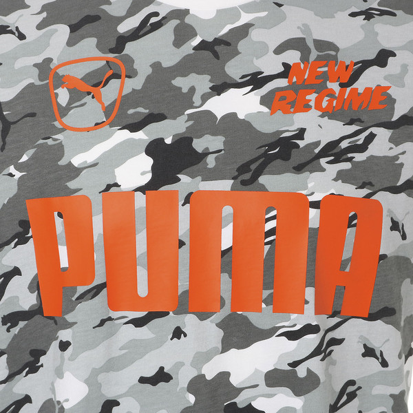 PUMA x ATELIER NEW REGIME TEE, Puma White-Snow Camo, large-JPN