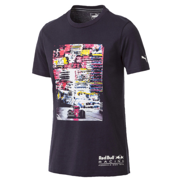 Red Bull Racing Lifestyle Men's Graphic T-Shirt, NIGHT SKY, large