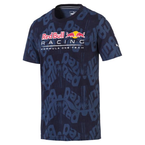 Red Bull Racing Men's AOP T-Shirt, NIGHT SKY, large