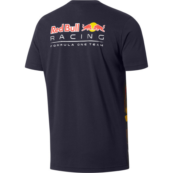 Red Bull Racing Men's AOP T-Shirt, NIGHT SKY-fig, large