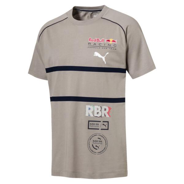 Red Bull Racing Speedcat Evo Men's Tee, Elephant Skin, large