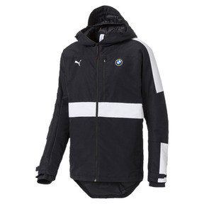 Thumbnail 1 of BMW MMS RCT Zip-Up Men's Hooded Jacket, Anthracite, medium