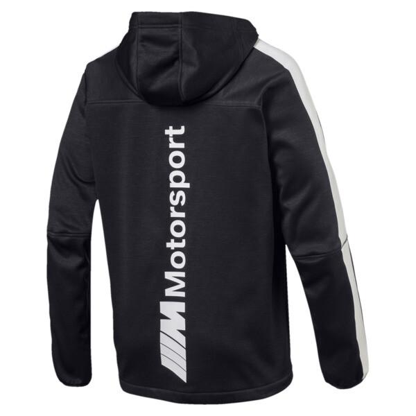 BMW M Motorsport Men's Life Softshell Jacket, Puma Black, large
