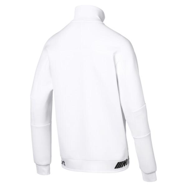 BMW MMS Life Zip-Up Men's Sweat Jacket, Puma White, large