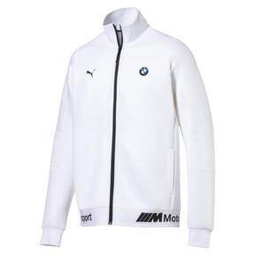 Thumbnail 1 of BMW MMS Life Zip-Up Men's Sweat Jacket, Puma White, medium