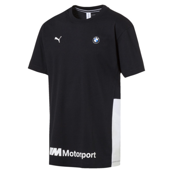 BMW M Motorsport Life Men's Tee, Anthracite, large