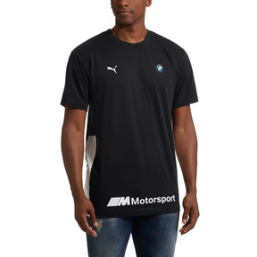 Thumbnail 2 of BMW M Motorsport Life Men's Tee, Anthracite, medium