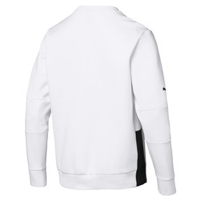 Thumbnail 2 of BMW M Motorsport Men's Graphic Long Sleeve Tee, Puma White, medium