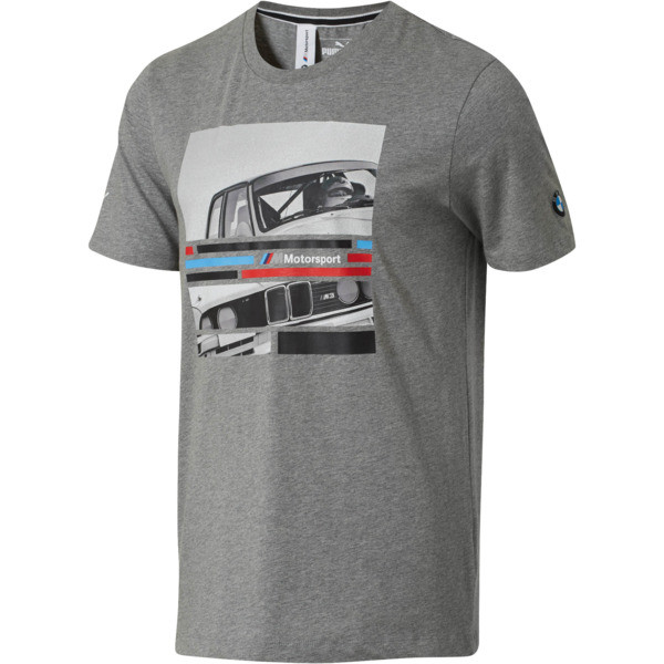 BMW Motrsport Graphic T-Shirt, Medium Gray Heather, large