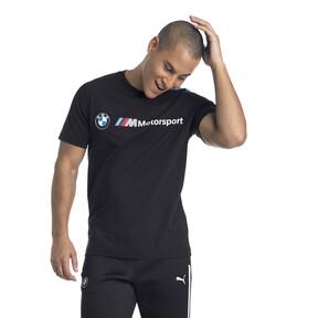 Thumbnail 2 of BMW M Motorsport Herren T7 T-Shirt, Anthracite, medium