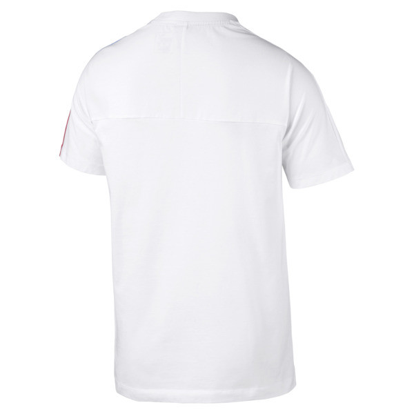 BMW M Motorsport Men's T7 T-Shirt, Puma White, large