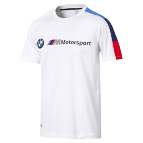 Thumbnail 1 of BMW M Motorsport Men's T7 T-Shirt, Puma White, medium