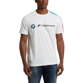 Thumbnail 2 of BMW M Motorsport Men's T7 T-Shirt, Puma White, medium