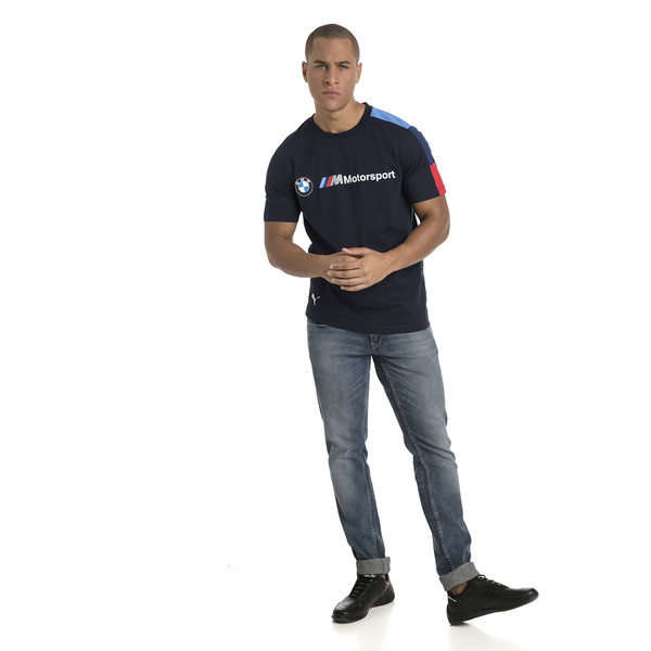 BMW M Motorsport Herren T7 T-Shirt, Team Blue, large