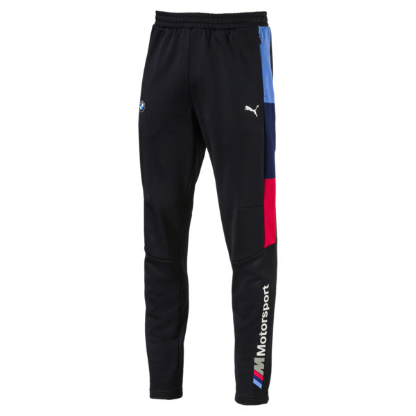 BMW M Motorsport Men's T7 Track Pants, Anthracite, large