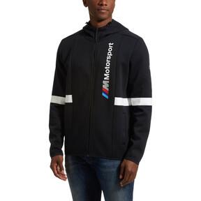 Thumbnail 2 of BMW Zip-Up Men's Hoodie, Anthracite, medium