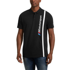 Thumbnail 2 of BMW M Motorsport Men's Polo, Anthracite, medium