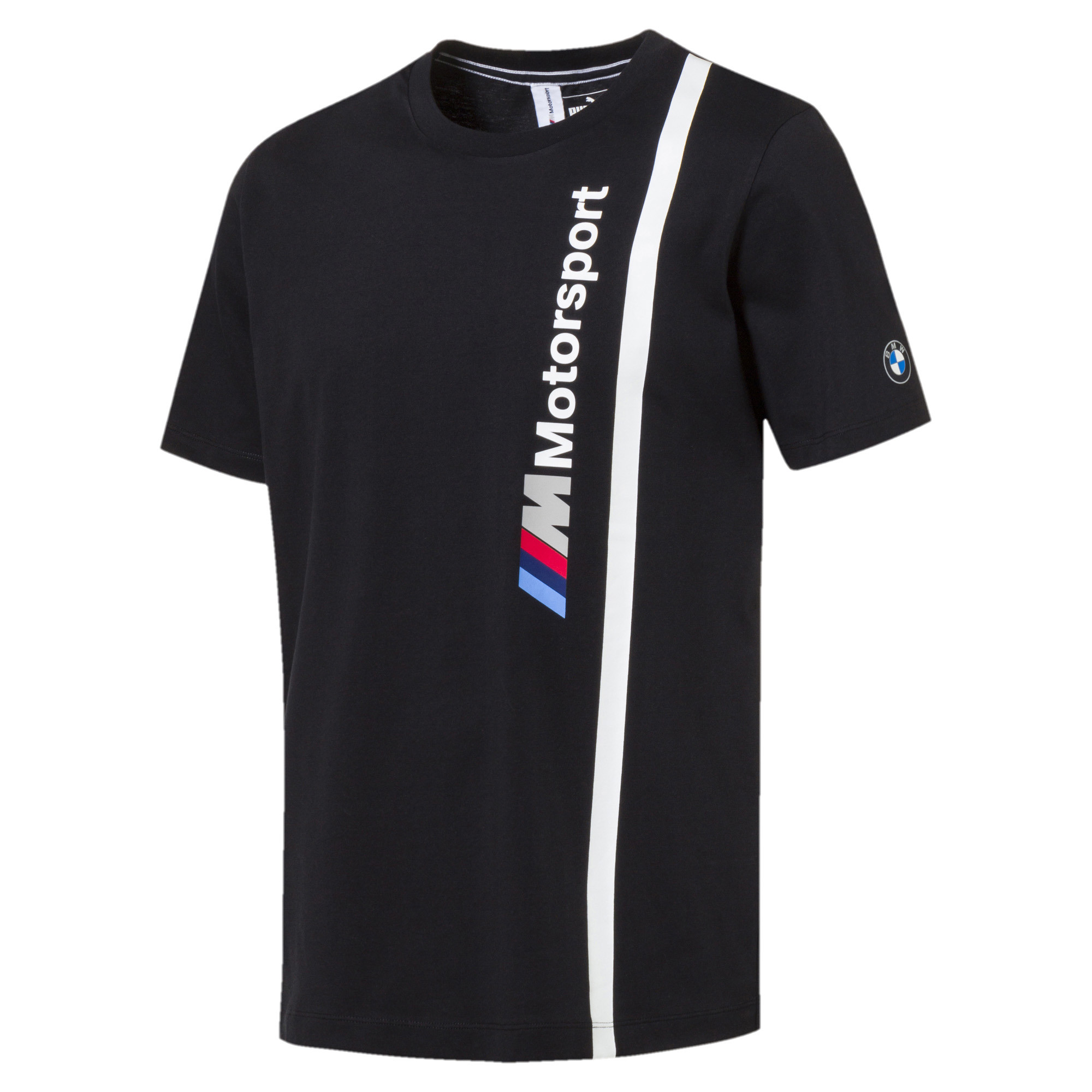 00ce0c6d3e0 PUMA BMW M Motorsport Men's Logo T-Shirt Men Tee Auto | eBay