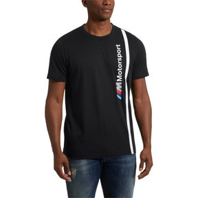 Thumbnail 2 of BMW M Motorsport Men's Logo Tee, Anthracite, medium
