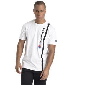 Thumbnail 2 of BMW M Motorsport Herren Logo T-Shirt, Puma White, medium