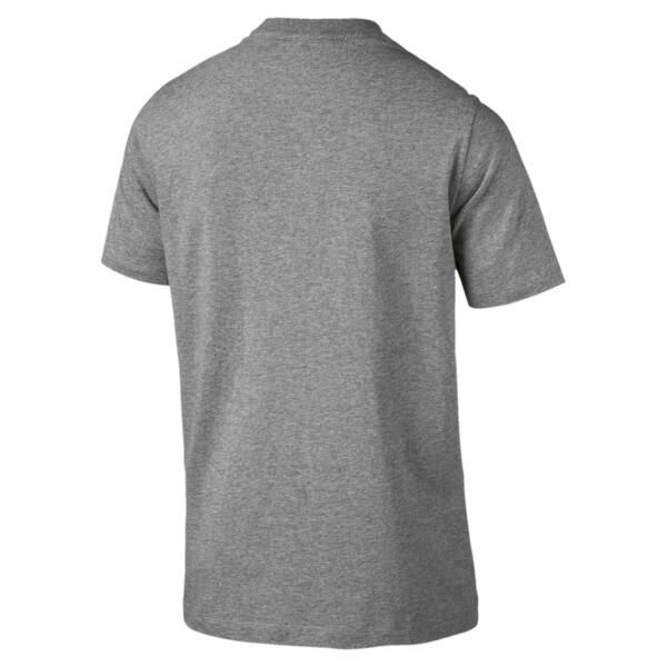 BMW M Motorsport Herren Logo T-Shirt, Medium Gray Heather, large