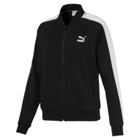 Thumbnail 1 of Classics T7 Women's Track Jacket, Cotton Black, medium