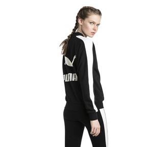 Thumbnail 3 of Classics T7 Women's Track Jacket, Cotton Black, medium