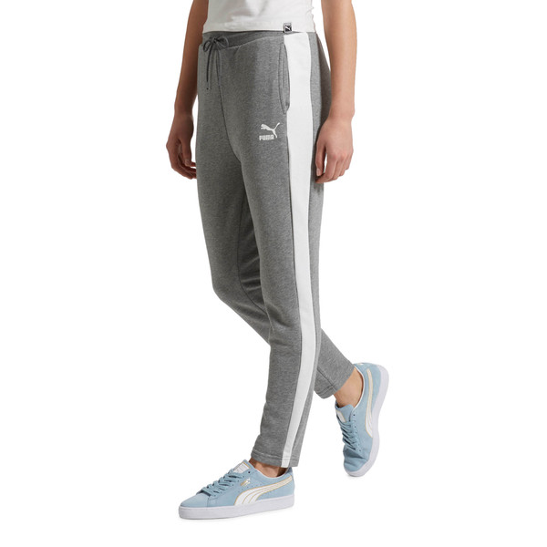 Classics T7 Women's Track Pants, Medium Gray Heather, large