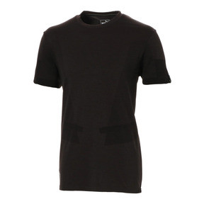 Thumbnail 1 of Scuderia Ferrari evoKNIT Men's Tee, Puma Black, medium