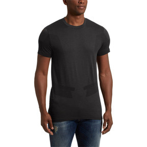 Thumbnail 2 of Scuderia Ferrari evoKNIT Men's Tee, Puma Black, medium