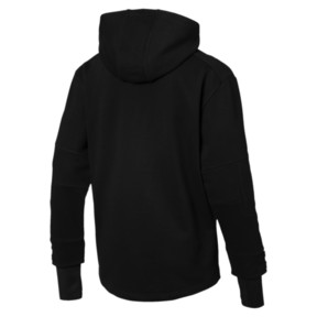 Thumbnail 2 of Scuderia Ferrari Life Men's Midlayer Full Zip Hooded Jacket, Puma Black, medium