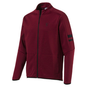 Thumbnail 1 of Scuderia Ferrari T7 Men's Track Jacket, Pomegranate, medium