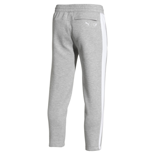 PUMA x PEPSI Men's Track Pants, Light Gray Heather, large