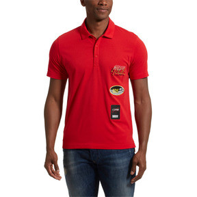 Thumbnail 2 of Scuderia Ferrari Men's Street Polo, Rosso Corsa, medium