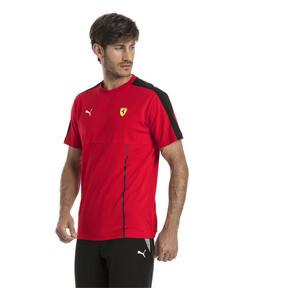 Thumbnail 2 of Ferrari Men's T7 T-Shirt, Rosso Corsa, medium