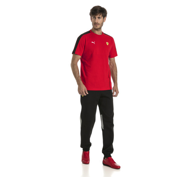 Ferrari Men's T7 T-Shirt, Rosso Corsa, large