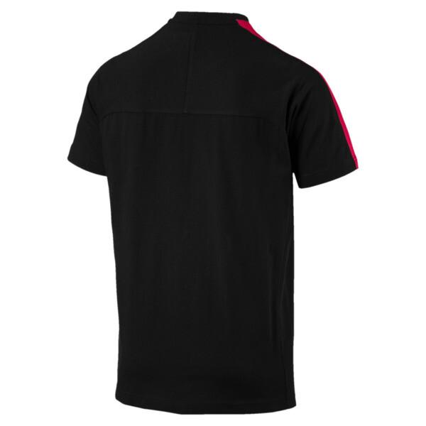 Ferrari Men's T7 T-Shirt, Puma Black, large